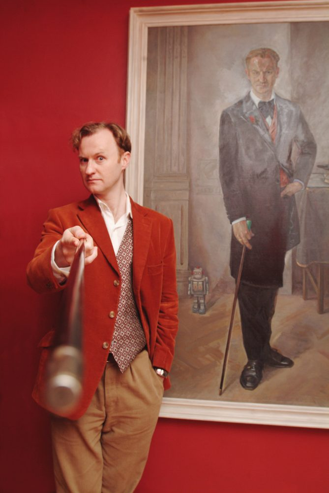 James O Jenkins Portraits  Mark Gatiss