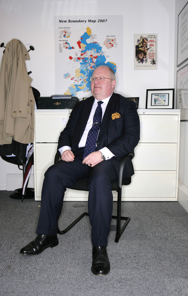 James O Jenkins Portraits Eric Pickles Eric Pickles MP