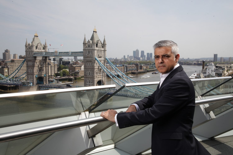 James O Jenkins Portraits  Sadiq Khan - Mayor of London
