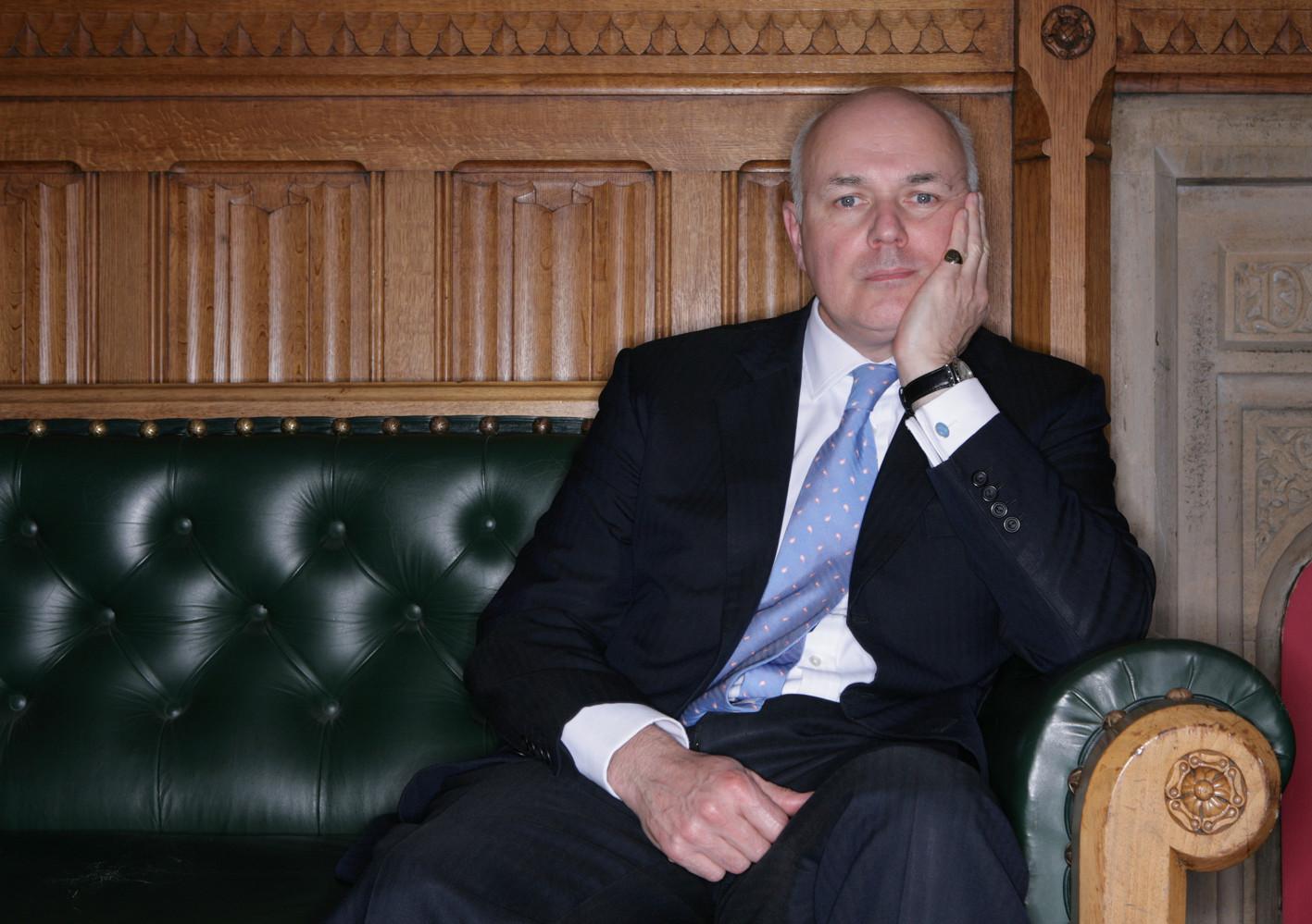 James O Jenkins Portraits Iain Duncan Smith Iain Duncan Smith MP