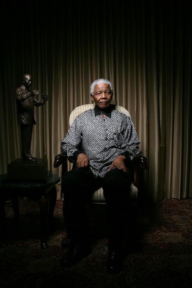 James O Jenkins Portraits NelsonMandela Nelson Mandela
