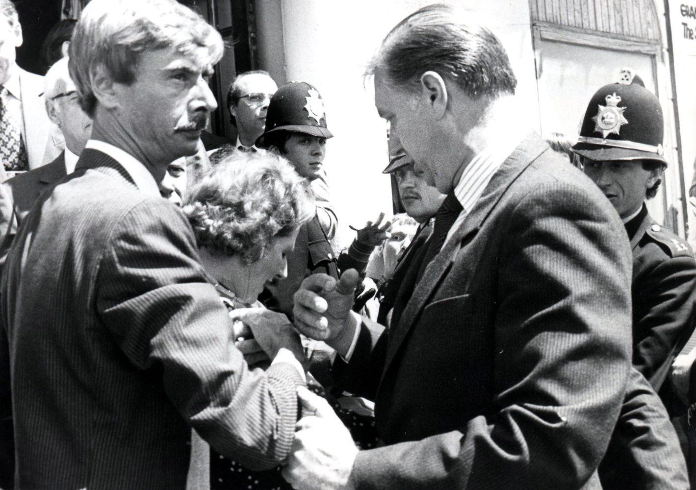 James O Jenkins Thatcher's Funeral