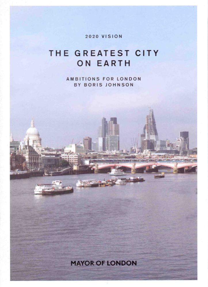 James O Jenkins Work Cuttings 10 Mayor of London