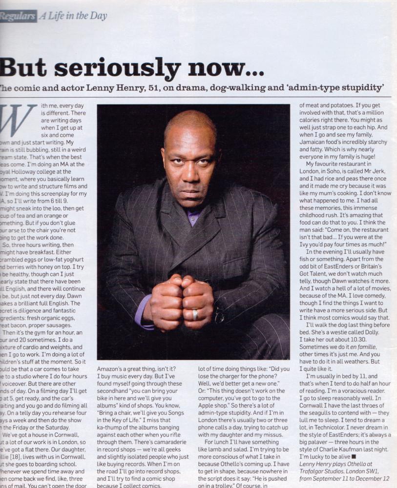 James O Jenkins Work Cuttings 20 The Sunday Times Magazine