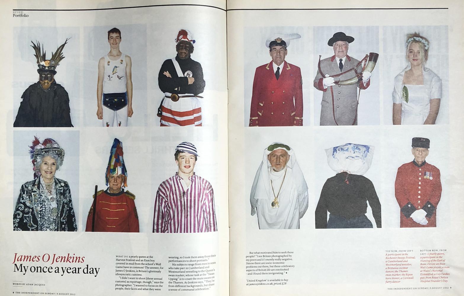 James O Jenkins Work Cuttings 21 Independent on Sunday Magazine