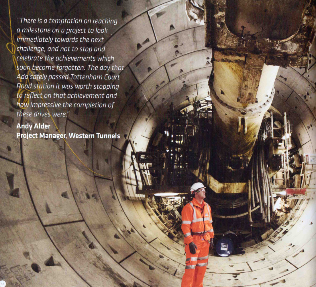 James O Jenkins Work Cuttings 5 Crossrail's Tunnelling Story