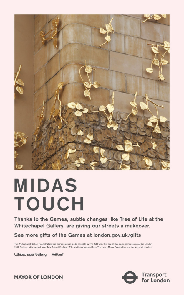 James O Jenkins Recent work GOTG_Whitechapel_Midas_Touch