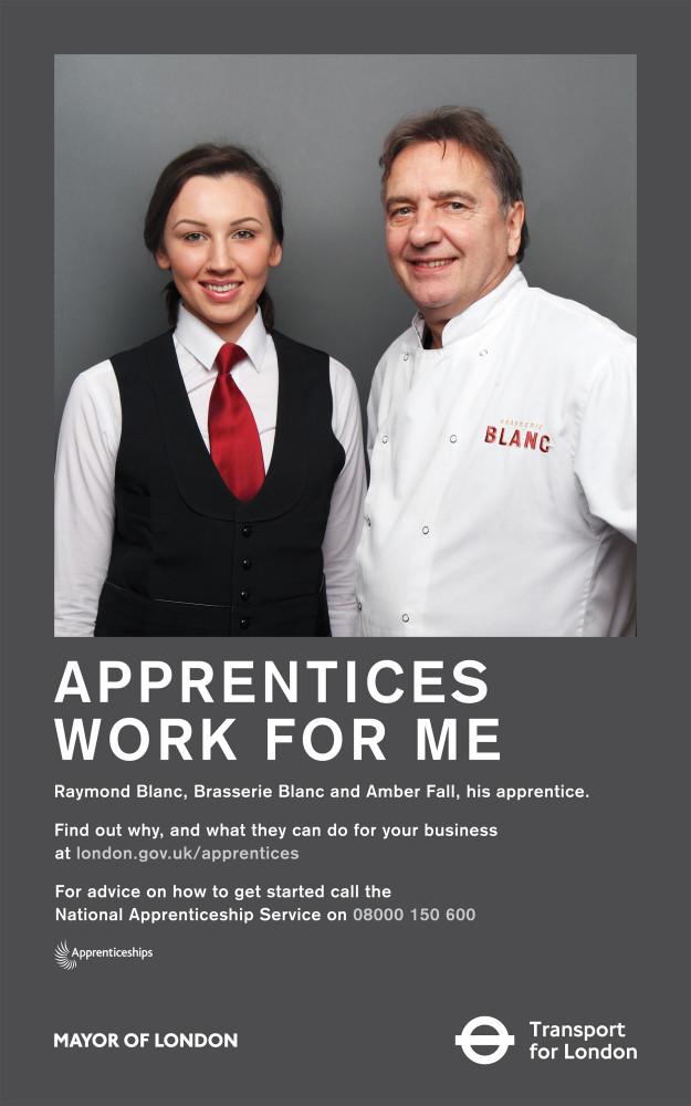James O Jenkins Work Cuttings TfL_DR_Apprentices_Raymond copy Mayor of London