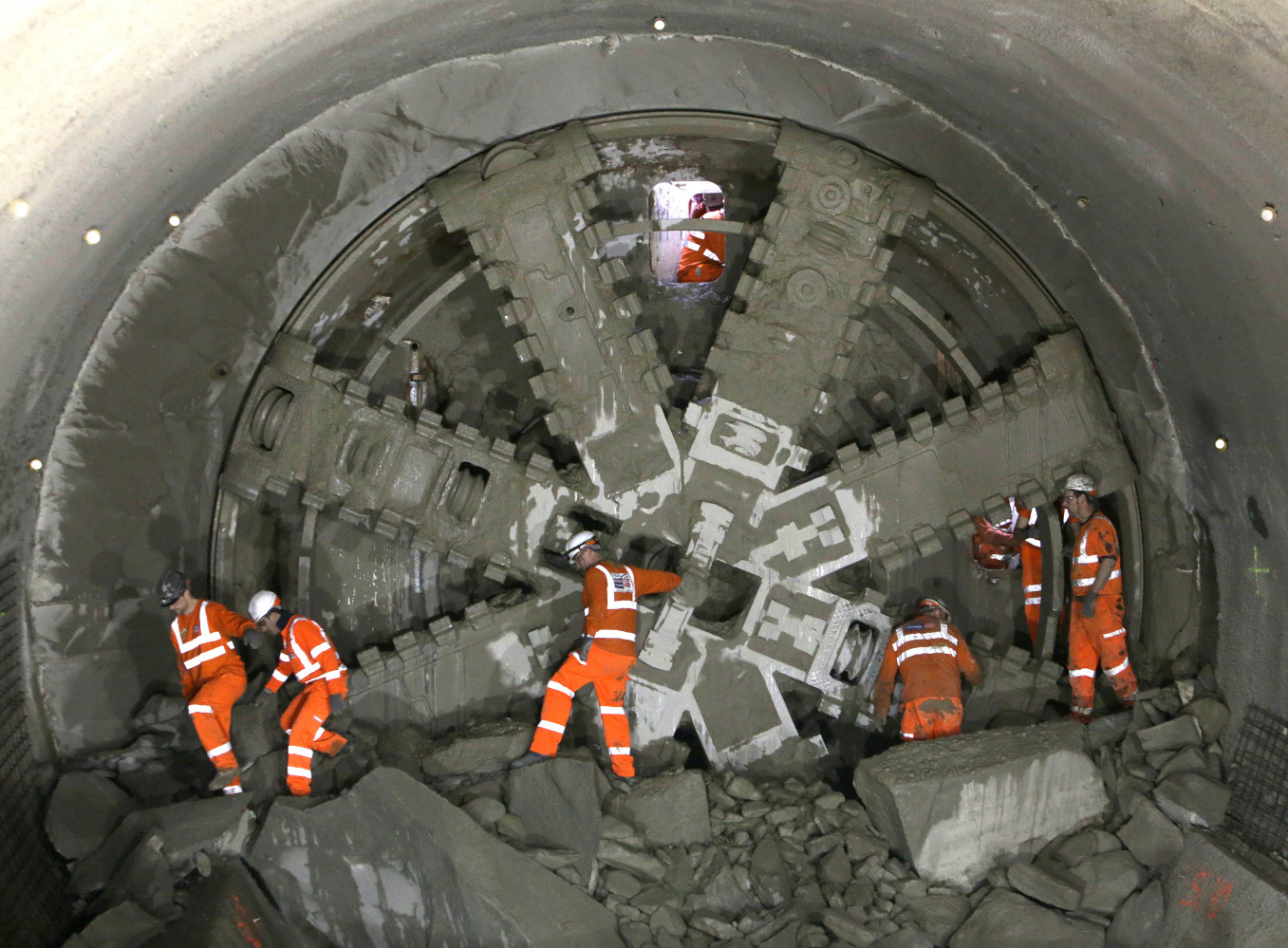 James O Jenkins Crossrail