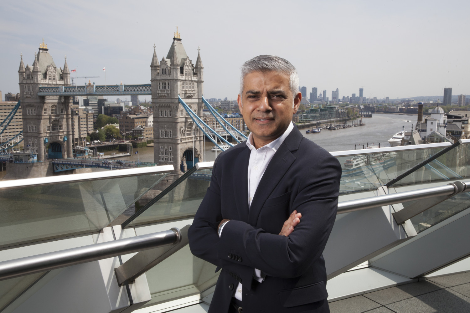 James O Jenkins Mayor of London Sadiq Kahn, Mayor of London