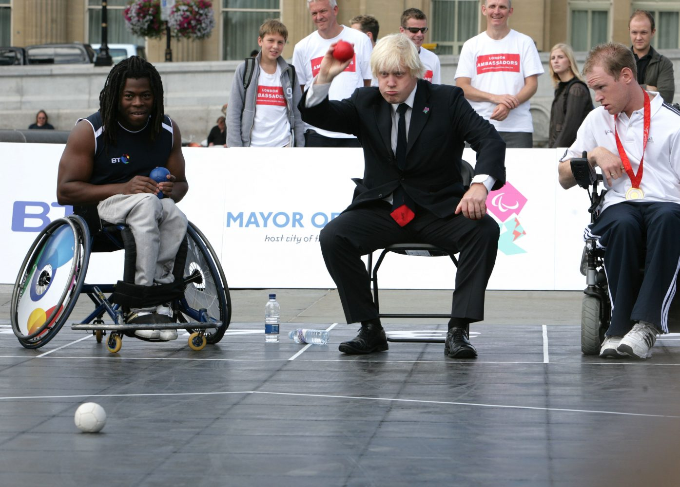 James O Jenkins Boris Johnson Two years to 2012 Paralympic Games